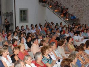 Il pubblico presente ad uno degli eventi
